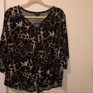 Cute blouse size large